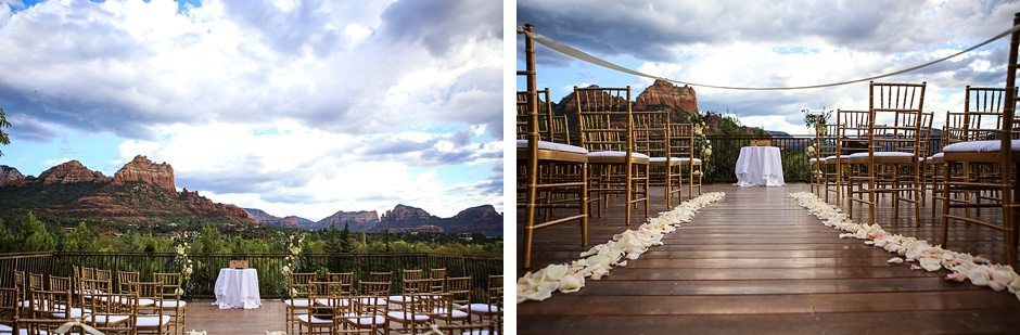 sedona destination wedding l'auberge de sedona arizona outdoors view
