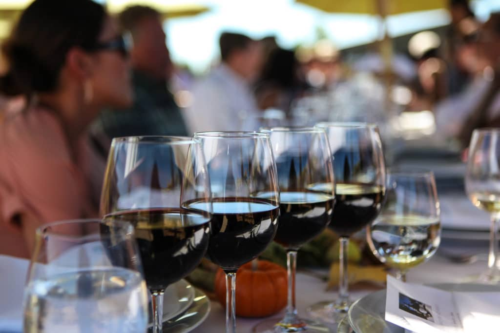 idell family vineyard corporate event photography