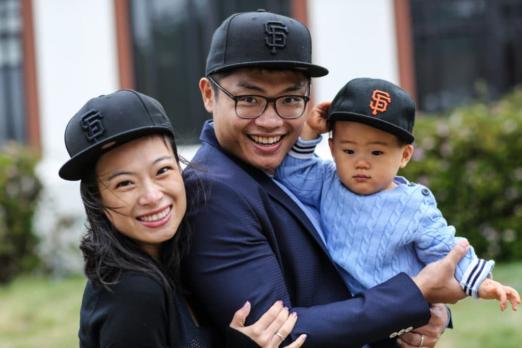 Family portraits San Francisco